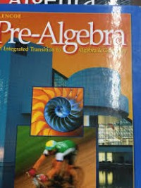Image of TRANSITION TO ALGEBRA